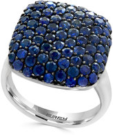 Effy Balissima Sapphire Pavé Ring (3-3/8 ct. t.w.) Ring in Sterling Silver
