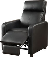 Asstd National Brand Thomas Home Theater Faux-Leather Recliner