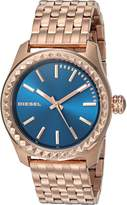 Diesel Women's 'Kray Kray' Quartz Stainless Steel Automatic Watch, Color:Rose -Toned (Model: DZ5509)