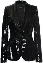Dolce & Gabbana Paillette Evening Blazer