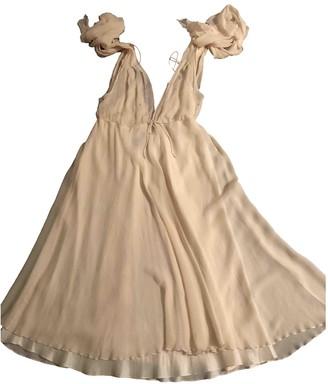 Jenny Packham Ecru Silk Dresses