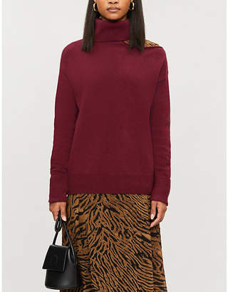Paige Raundi one-shoulder wool-blend jumper