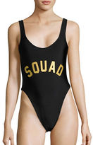 Private Party Squad One-Piece Swimsuit