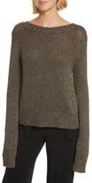 A.L.C. Women's Marjorie Lace-Up Back Sweater