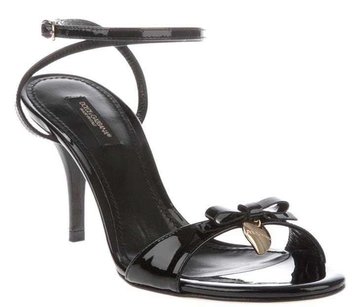 Dolce & Gabbana mid heel sandal