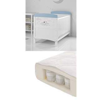 O Baby Disney 101 Dalmatians Inspire Cot Bed and All Seasons Pocket Sprung Mattress - Little Dreamer