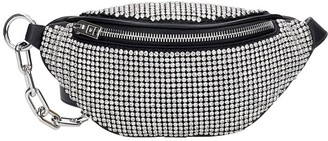 Alexander Wang Attica Mini Waist Bag In Black Leather