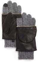 Echo Leather Glitten Tech Gloves - 100% Bloomingdale's Exclusive