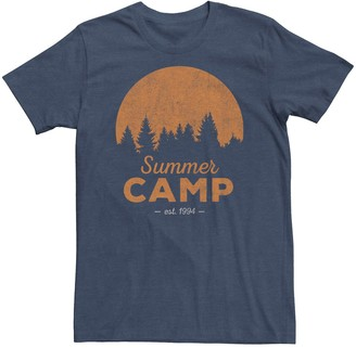 Fifth Sun Men's Distressed Summer Camp Tee