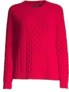 Max Mara Women's Carpazi Cable-Knit Wool Sweater