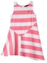 Nautica Girls' Stripe Jersey Dress.