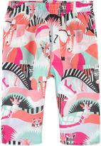 Kenzo Printed girl slim fit pants