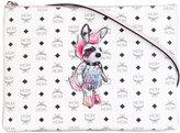 MCM punk rabbit clutch bag - women - Calf Leather - One Size