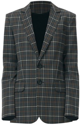 Tibi Gabe Menswear-Fit Suiting Blazer