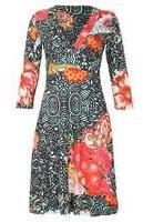 Dorothy Perkins Wo**izabel London Multi Green Dress- Green