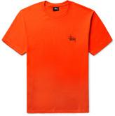 Stüssy - Printed Cotton-jersey T-shirt