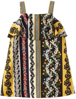 Oscar de la Renta Vintage Patchwork Dress