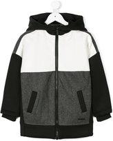 DKNY zipped hoodie