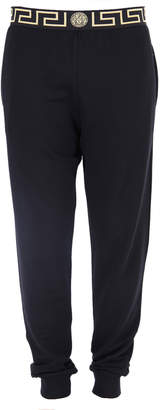 Versace Men's Iconic Tapered Gym Jogger Pants