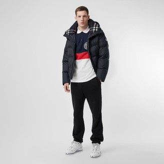 Burberry Detachabe Seeve Hooded Puffer Jacket
