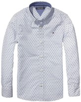 Tommy Hilfiger Th Kids Micro Pattern Shirt