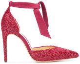 Alexandre Birman glitter Clarita pumps - women - Leather/Suede/Polyester - 6.5