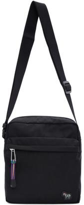 Paul Smith Black Zebra Flight Bag