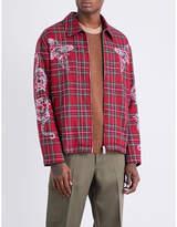 Stella Mccartney Tartan Cotton-blend Overshirt Jacket