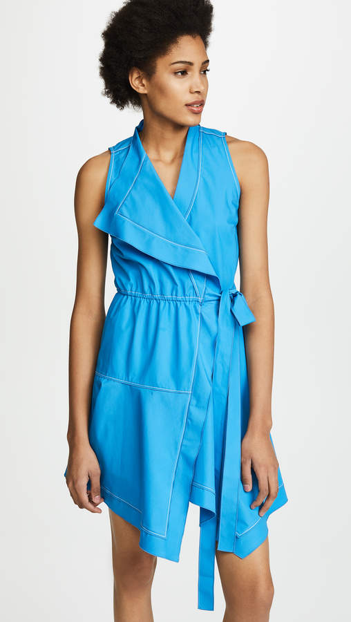Derek Lam 10 Crosby Wrap Dress