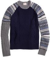 Brooks Brothers Fun Crewneck Sweater