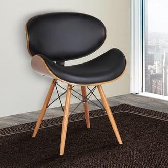 Ermenegildo Zegna Langley Street Upholstered Dining Chair Langley Street Color: Black