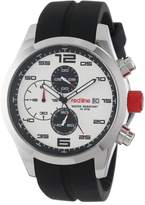 Redline Red Line Men's RL-50042-02 Stealth Chronograph Textured Dial Black Silicone Watch