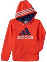 adidas Boys 4-7x Striped Hoodie