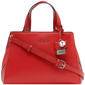 GUESS VY708305RED Rowe Double Handle Satchel