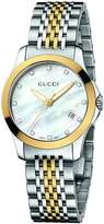Gucci Women's YA126513 timeless Steel and PVD Dial Watch