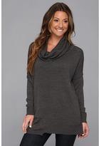 Brigitte Bailey Karin Cowl Neck Sweater (Ash Grey Mel) Women's Sweater