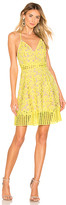 Lovers + Friends Bellini Dress in Yellow. - size L (also in S,XS)