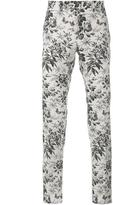 Gucci Tailored Floral Print Trousers