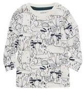 F&F Woodland Print Long Sleeve T-Shirt, Newborn Boy's