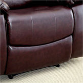 Asstd National Brand Reaufort Transitional Faux Leather Club Chair
