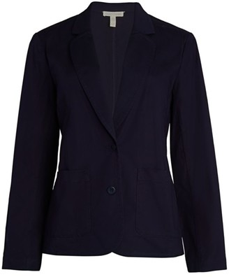Eileen Fisher Stretch-Organic Cotton Blazer