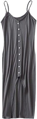 Goodnight Macaroon 'Helen' Button Slit Front Midi Dress (5 Colors)