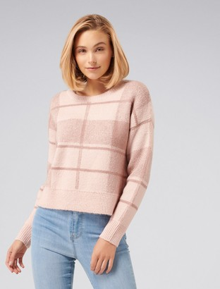 Ever New Savannah Check Sweater