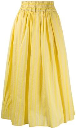 Aspesi High Waisted Midi Skirt