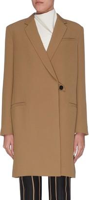 3.1 Phillip Lim Grandpa style oversized single button blazer