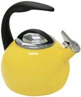 Chantal 40th Anniversary 2-Quart Enamel on Steel Teakettle, Canary Yellow by