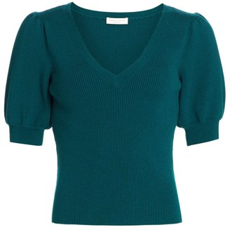 Ramy Brook Rory Puff Sleeve Sweater