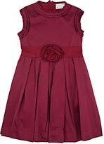 Lanvin SATIN SLEEVELESS DRESS-PINK SIZE 8