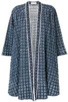 Sonia Rykiel laser motif denim coat