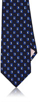 Fairfax MEN'S RECTANGLE-PATTERN NECKTIE